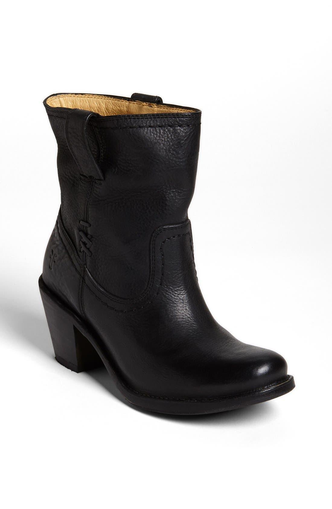 Main Image - Frye 'Carmen - X Stitch' Short Boot