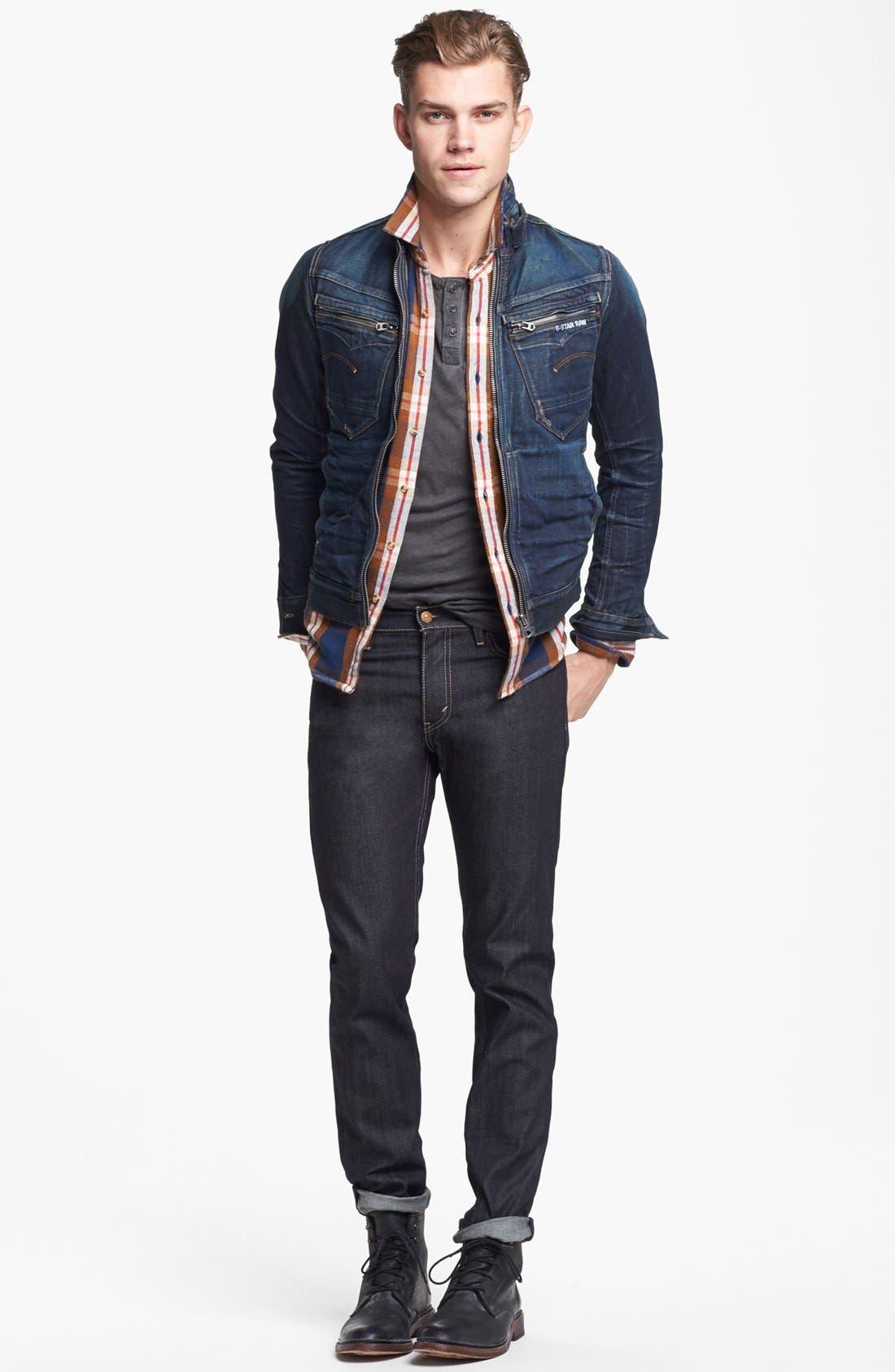 Alternate Image 6  - Levi's® '511™' Slim Fit Jeans (Rigid Dragon)