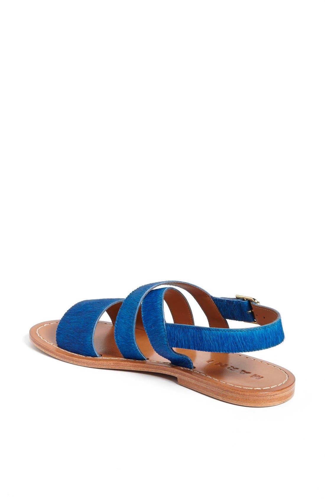 Alternate Image 2  - Marni Calf Hair Sandal