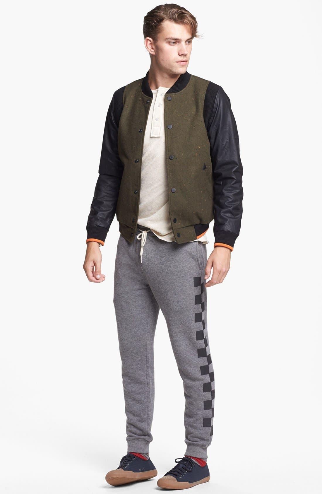 Alternate Image 4  - 55DSL 'Jomstone' Varsity Jacket