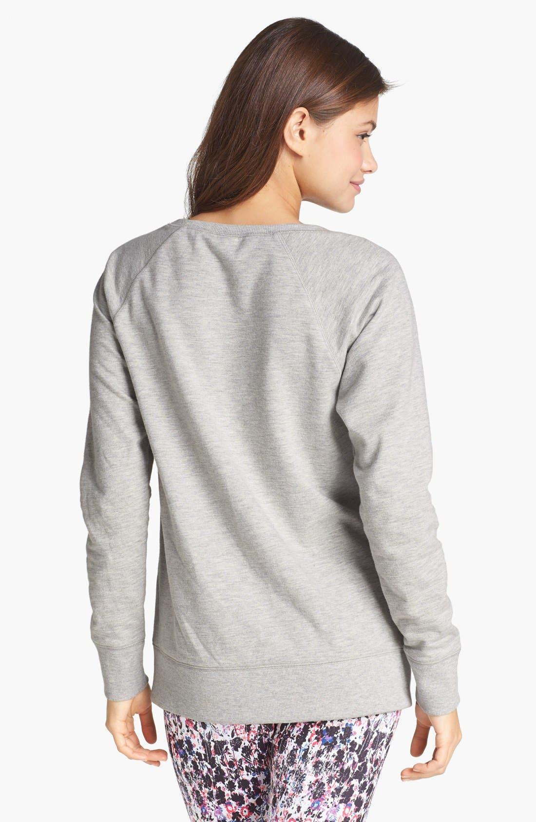 Alternate Image 2  - BP. Undercover 'Snuggle Up' Sweatshirt (Juniors)