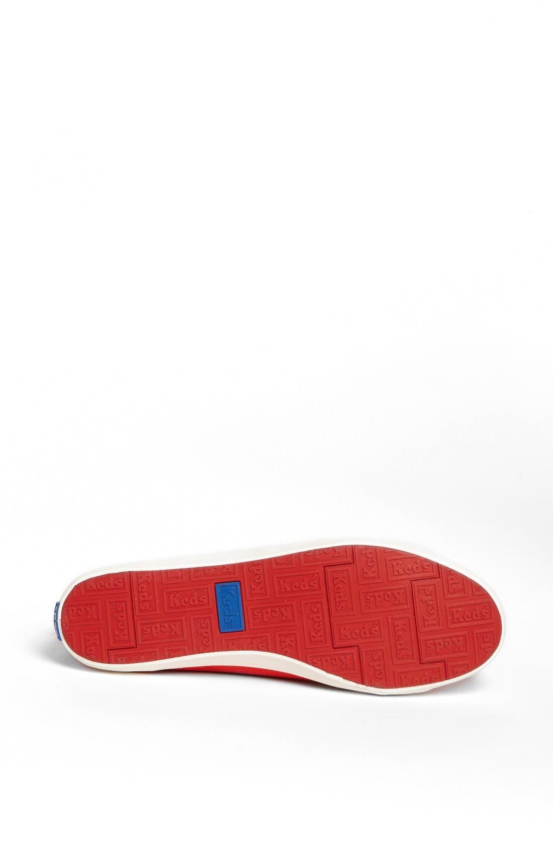 Alternate Image 4  - Keds® 'Rookie - Loop-De-Loop' High Top Sneaker (Women)