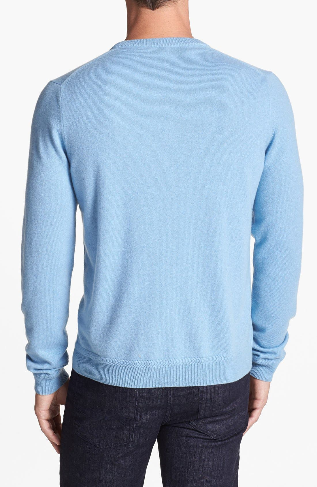 Alternate Image 2  - John W. Nordstrom® V-Neck Cashmere Sweater