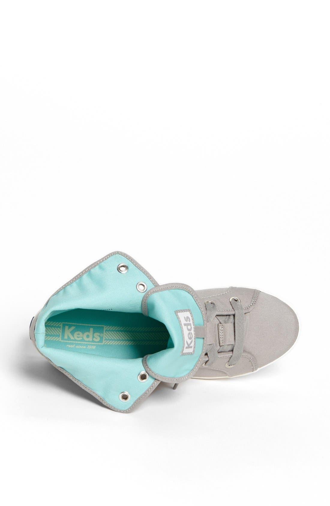 Alternate Image 3  - Keds® 'Rookie - Loop-De-Loop' High Top Sneaker (Women)