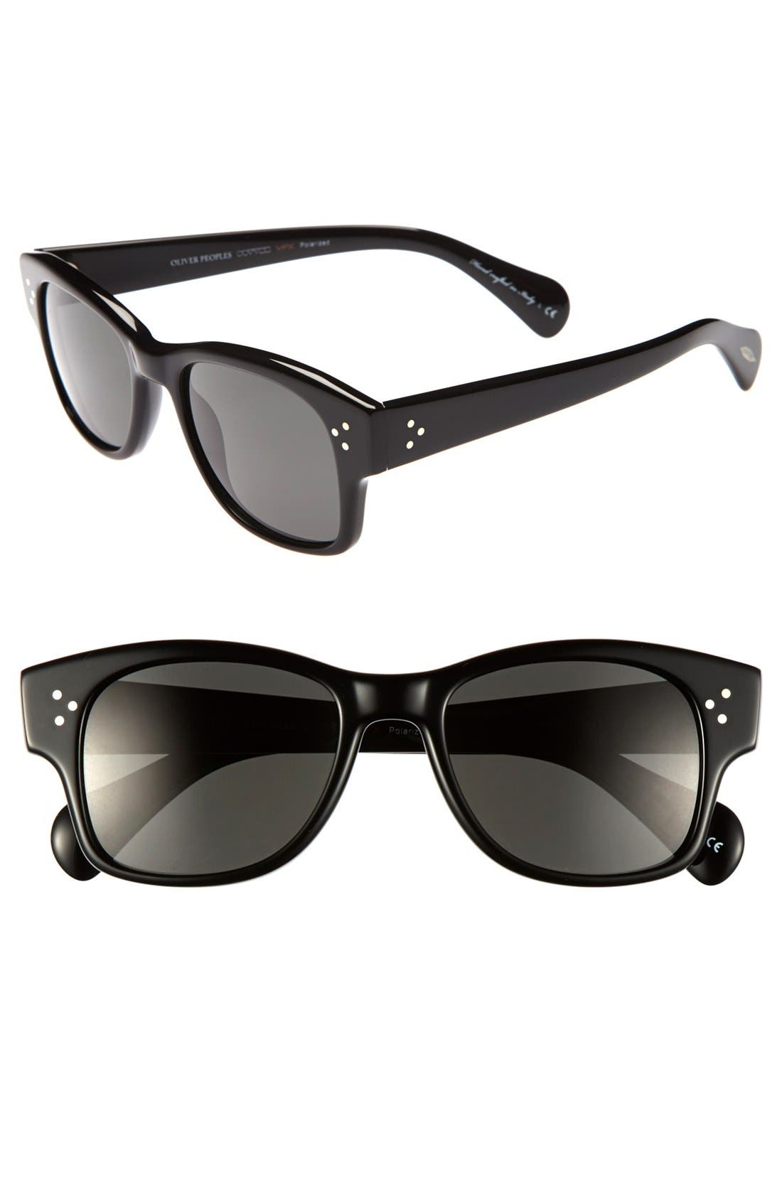 Main Image - Oliver Peoples 'Jannsson' 51mm Polarized Sunglasses