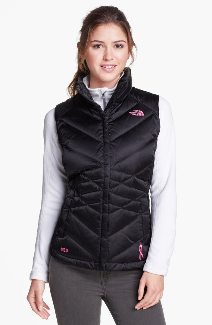 The North Face Aconcagua Pink Ribbon Down Vest Nordstrom