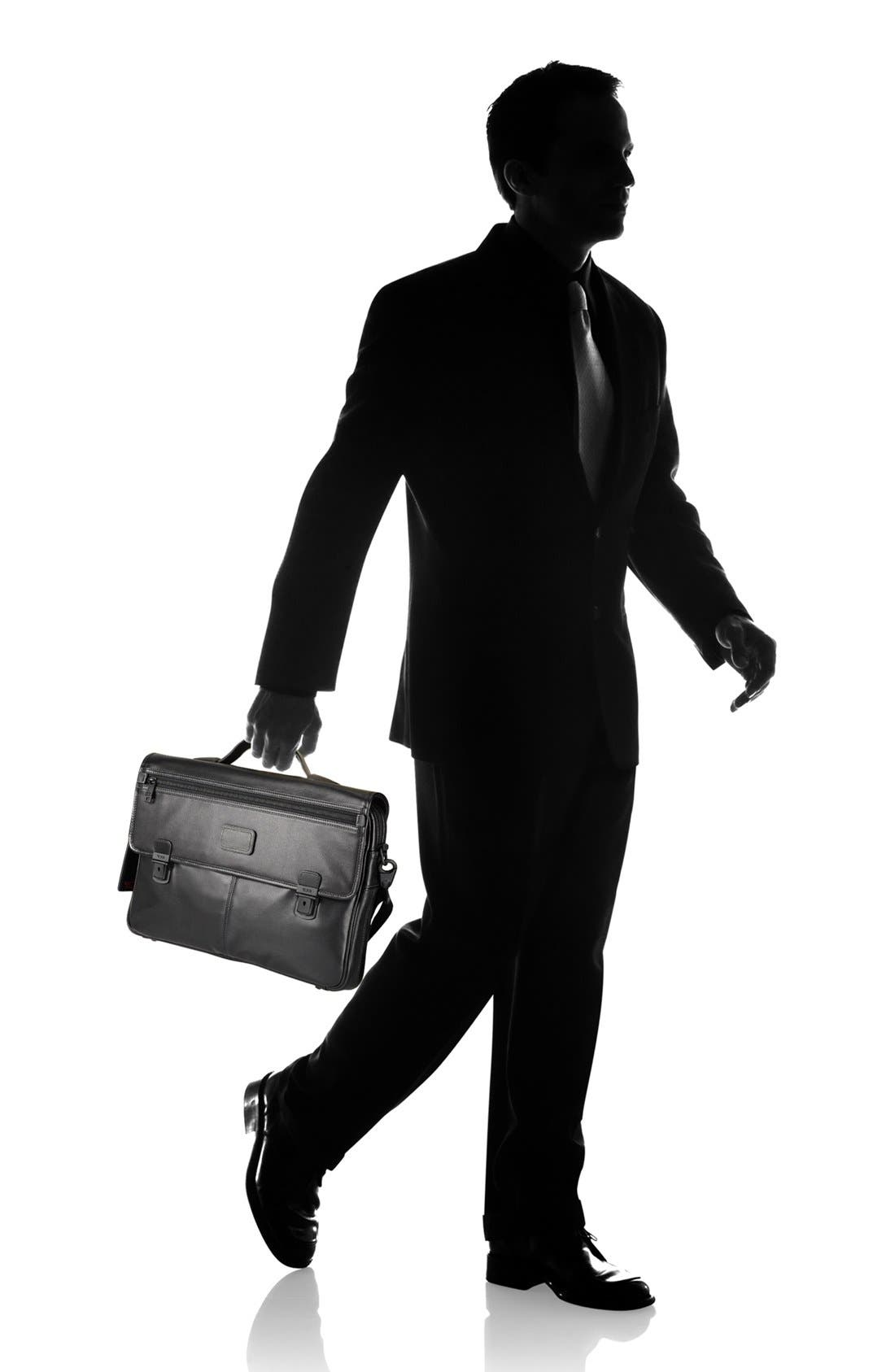 Alternate Image 6  - Tumi 'Alpha' Slim Flap Leather Briefcase