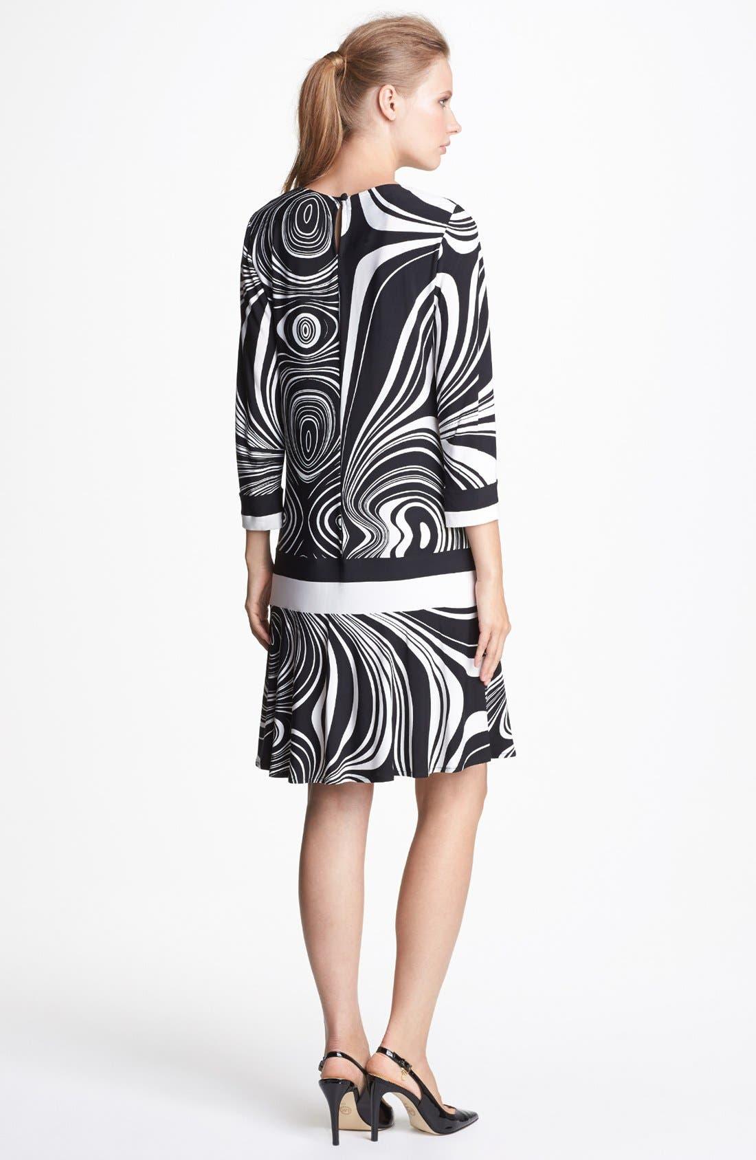 Alternate Image 2  - Donna Morgan Print Jersey Dress