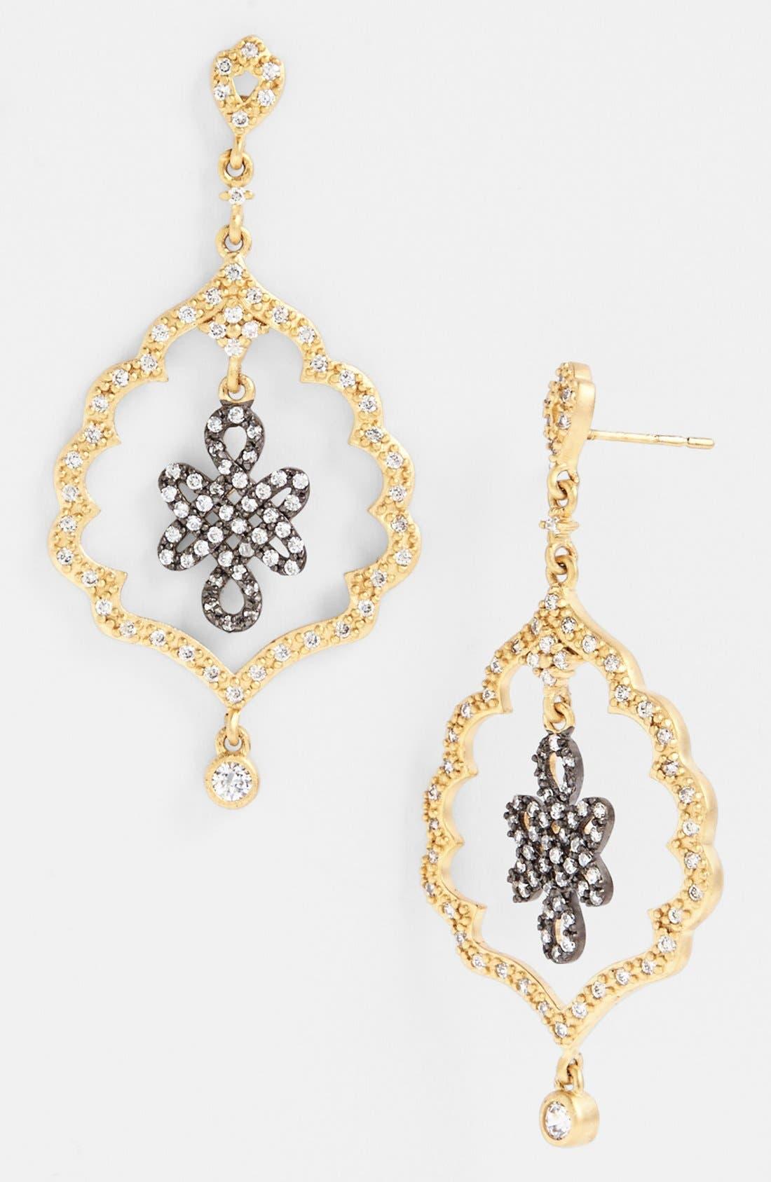 Main Image - FREIDA ROTHMAN 'Gramercy' Love Knot Drop Earrings