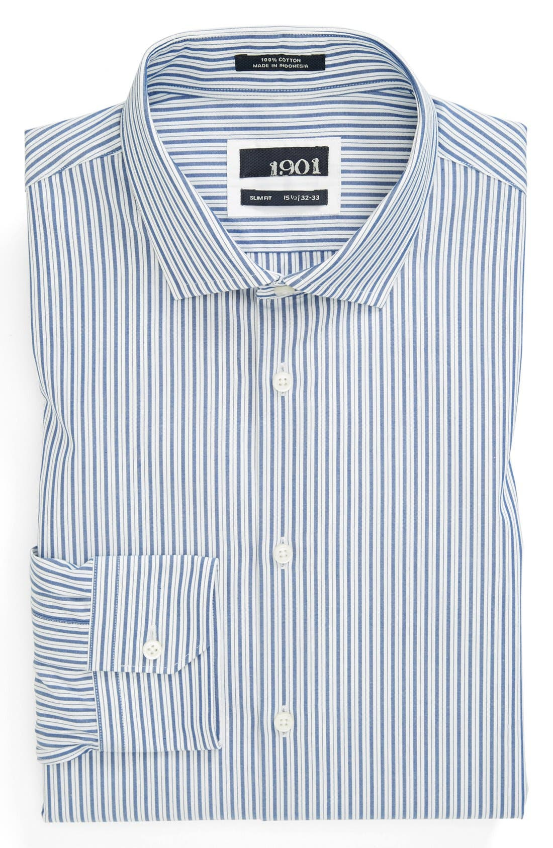 Alternate Image 1 Selected - 1901 Slim Fit Dress Shirt