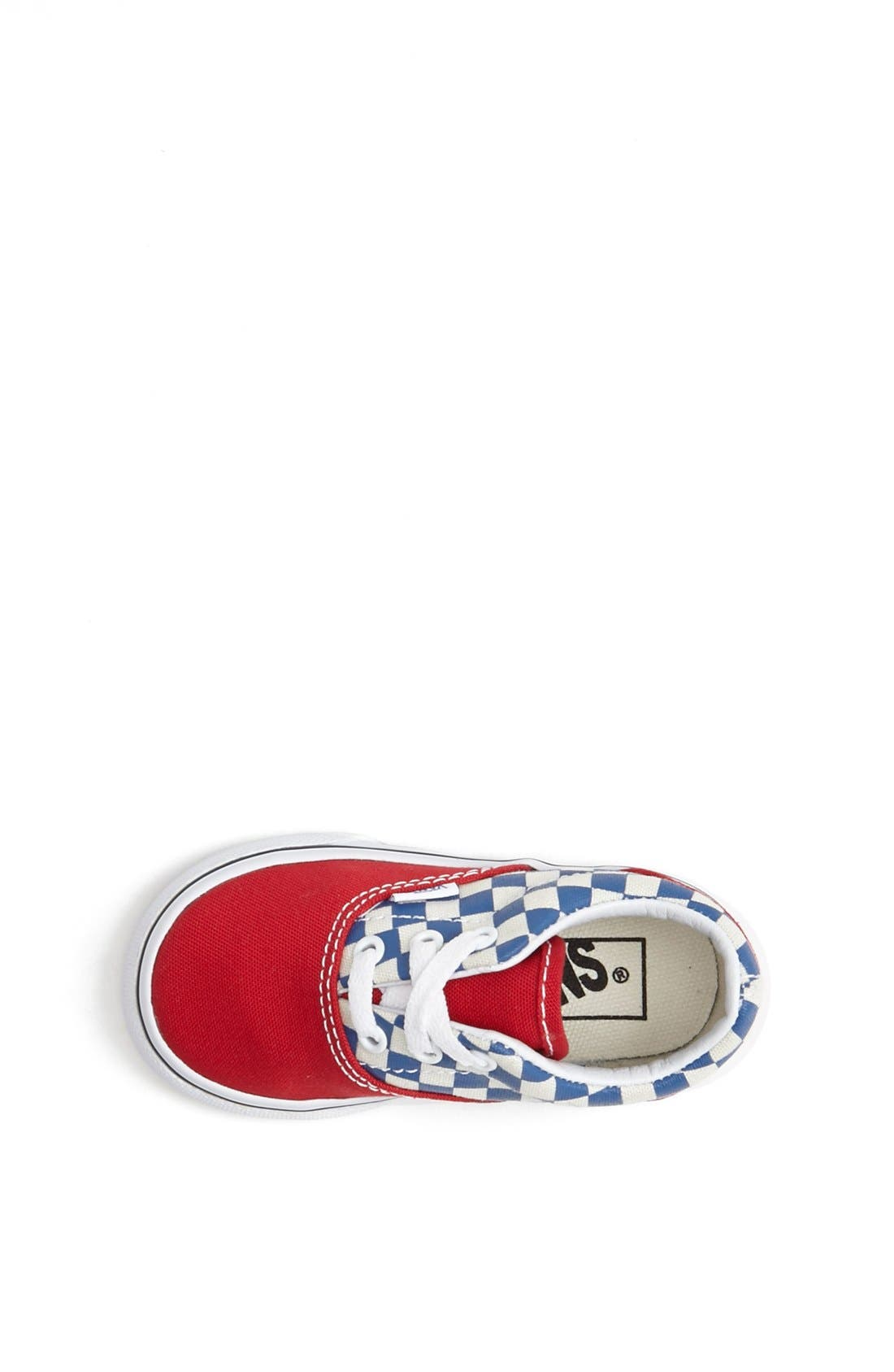 Alternate Image 3  - Vans 'Era - Checkerboard' Sneaker (Baby, Walker & Toddler)