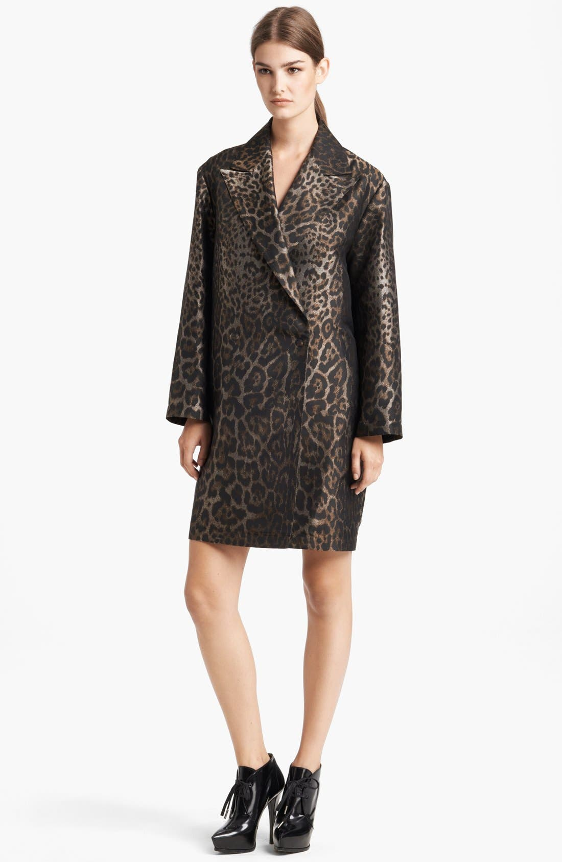 Alternate Image 1 Selected - Lanvin Jacquard Caban Coat