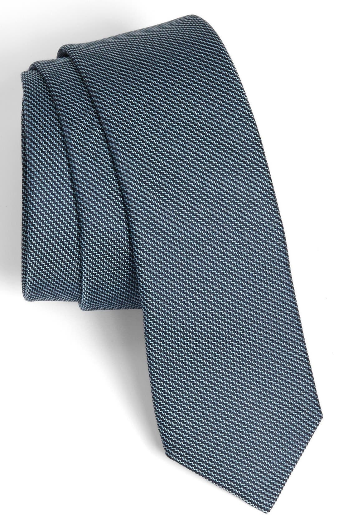 Main Image - John Varvatos Star USA Woven Silk Tie