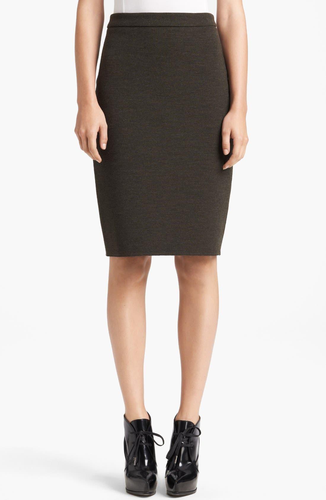Alternate Image 1 Selected - Lanvin Slim Jersey Skirt