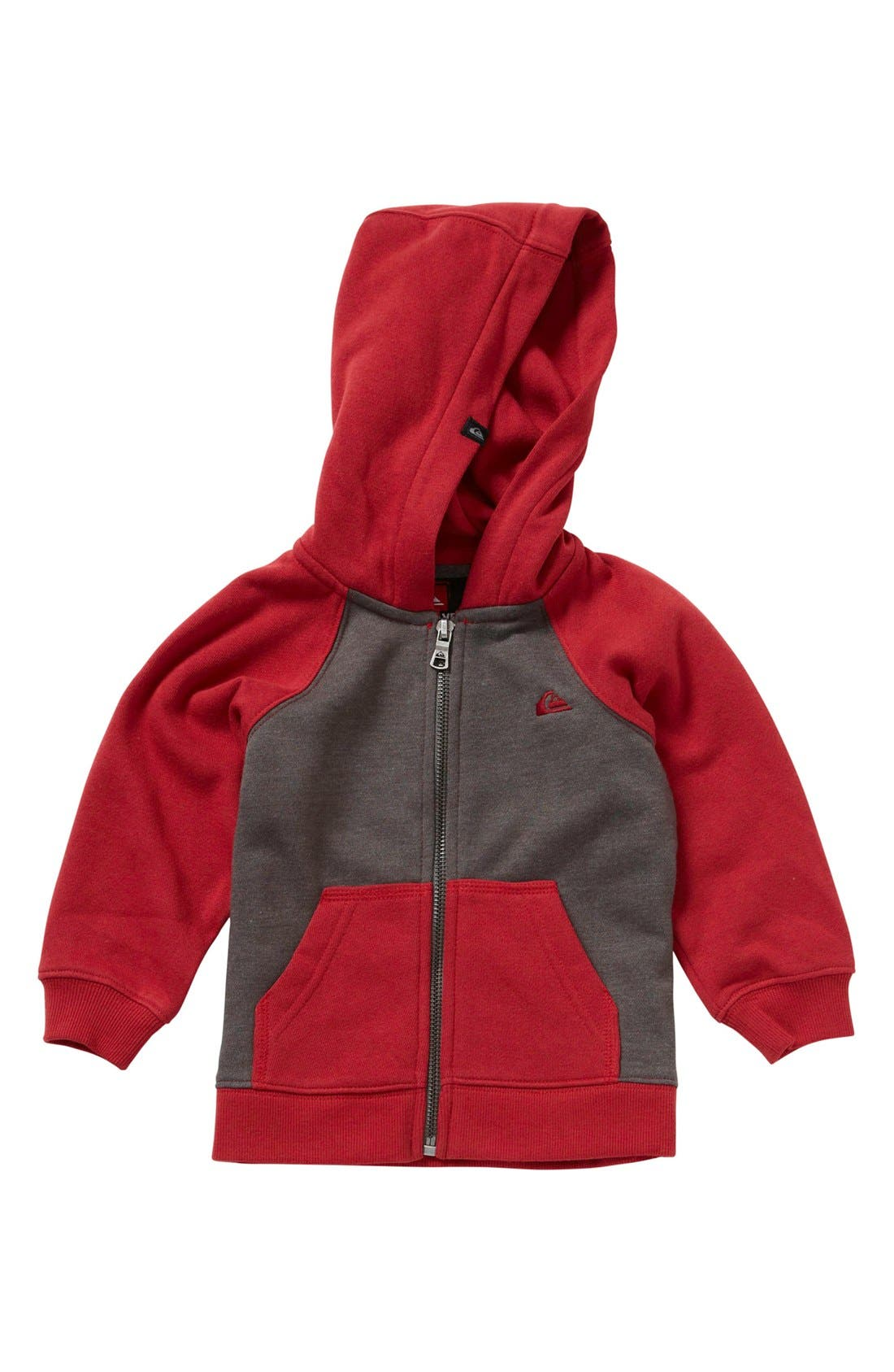 Alternate Image 1 Selected - Quiksilver 'Corbin' Zip Hoodie (Baby Boys)