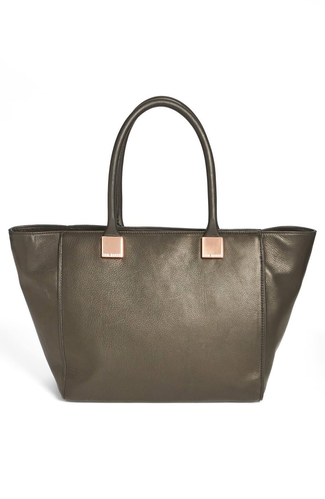 Alternate Image 4  - Ted Baker London Metal Bow Shopper