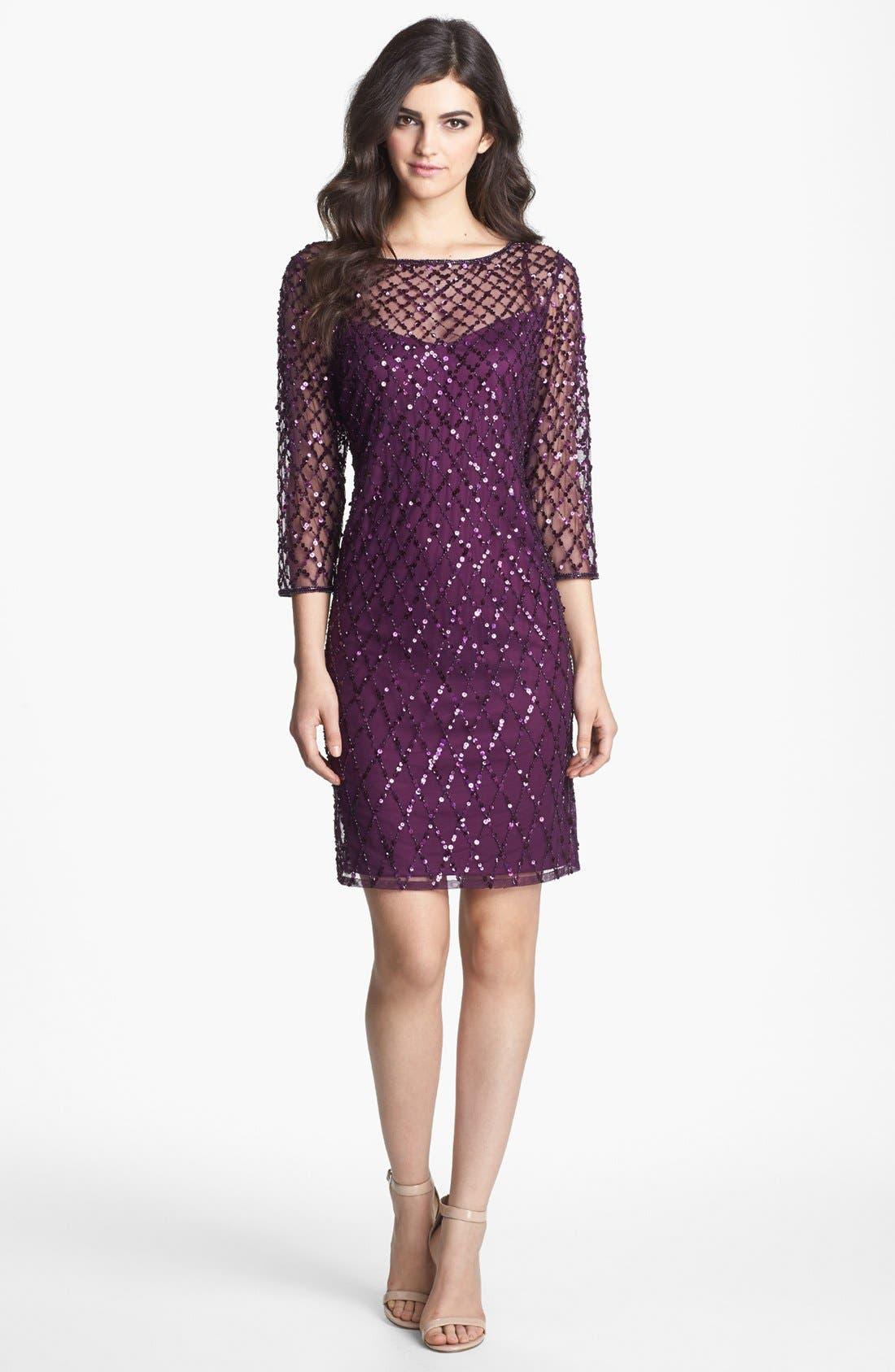Alternate Image 3  - Pisarro Nights Beaded Short Dress