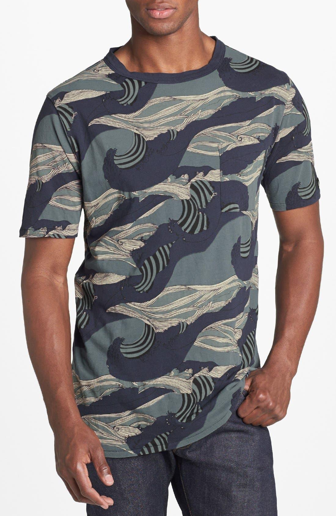 Alternate Image 1 Selected - ZANEROBE 'Whitewash' Print T-Shirt