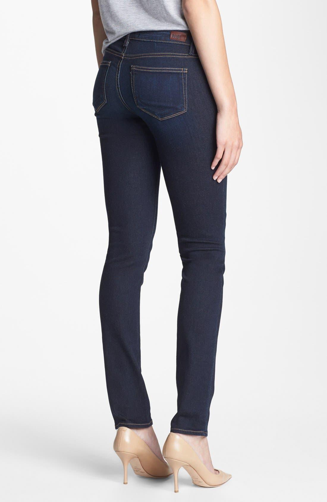 Alternate Image 2  - Paige Denim 'Skyline' Skinny Jeans (Surface)