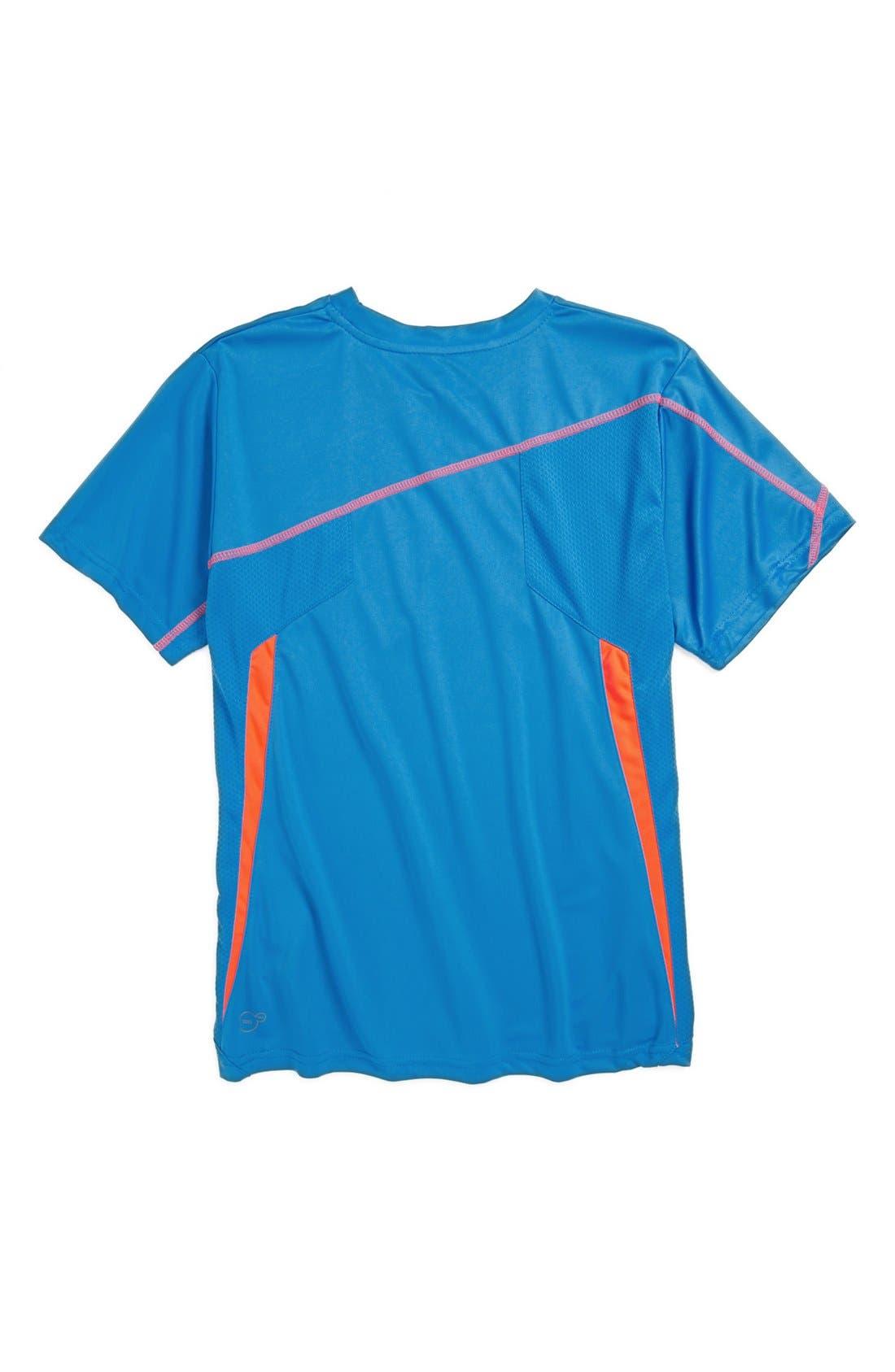 Alternate Image 2  - PUMA 'Formstripe' T-Shirt (Big Boys)