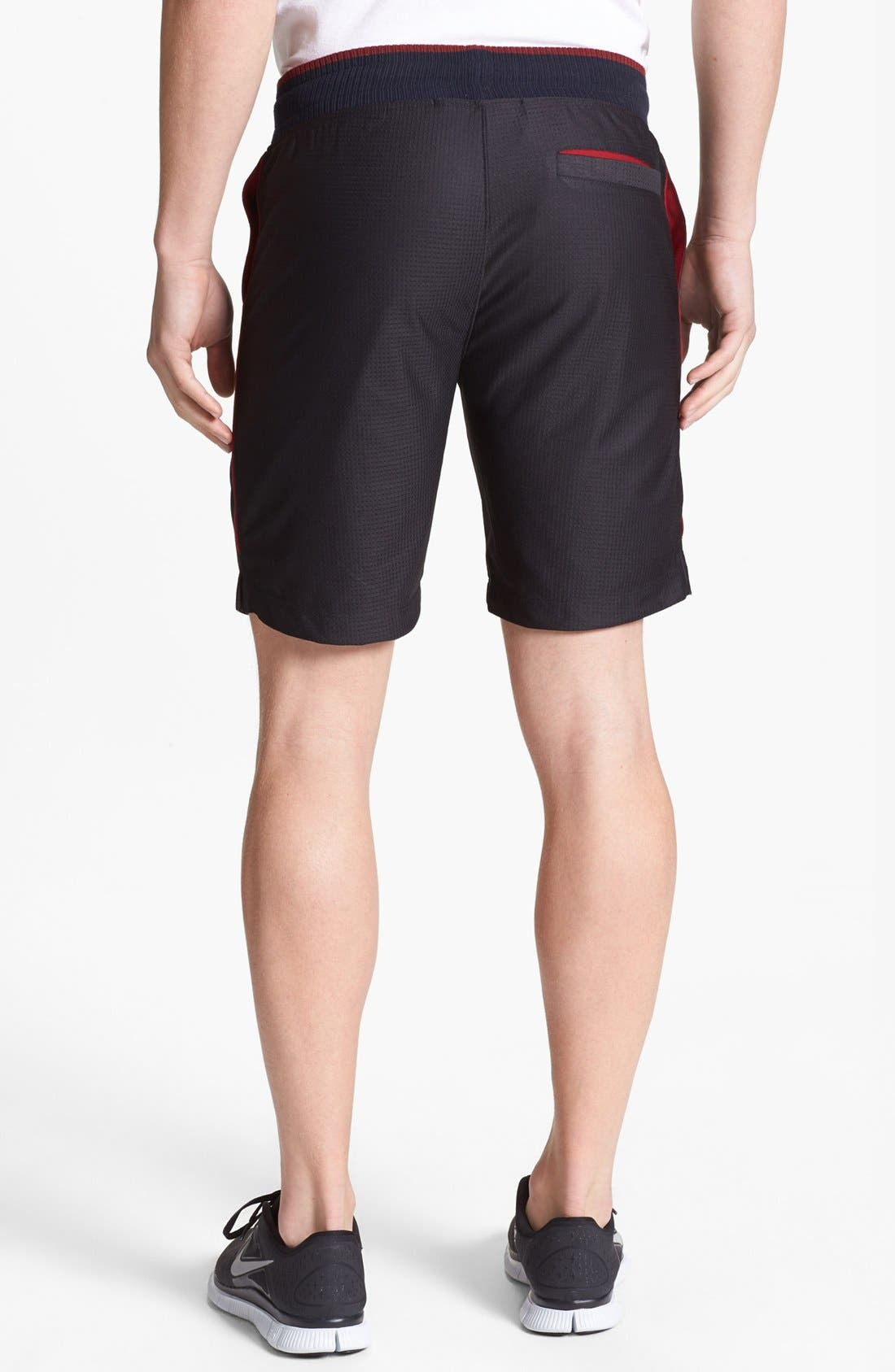 Alternate Image 2  - Number:LAB 'cool:TECH' Double Layer Drawstring Shorts
