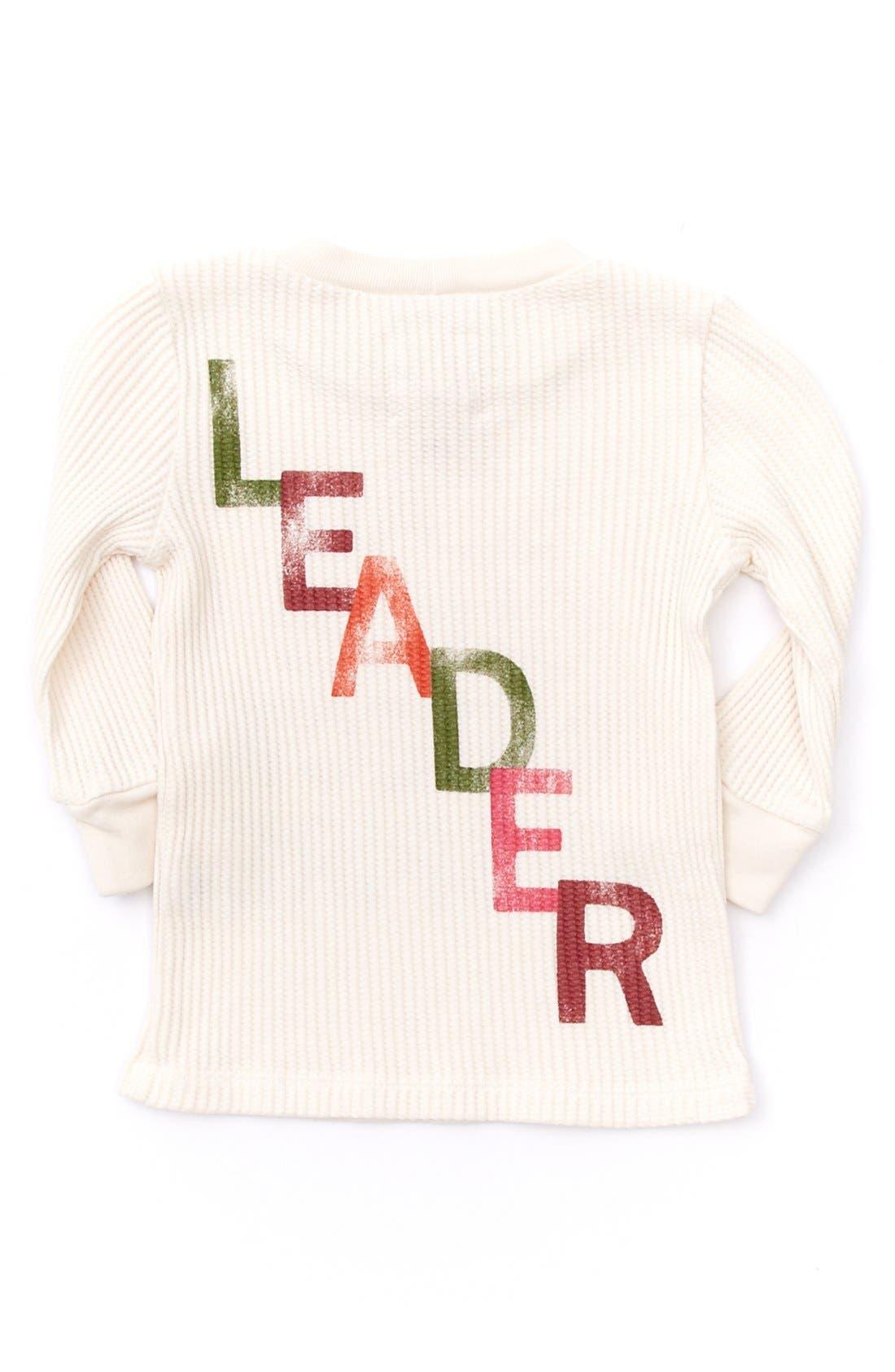 Alternate Image 2  - Peek 'Leader' Tee (Baby Girls)