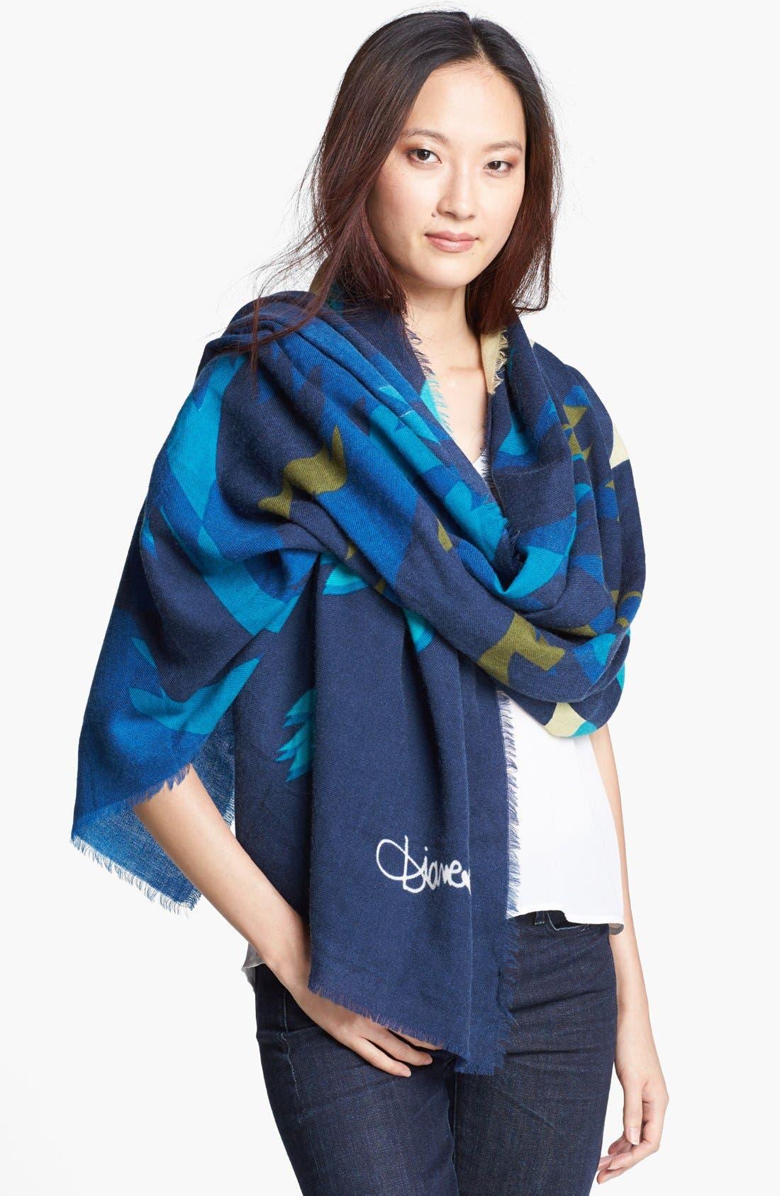 Main Image - Diane von Furstenberg Heavy Wool Scarf