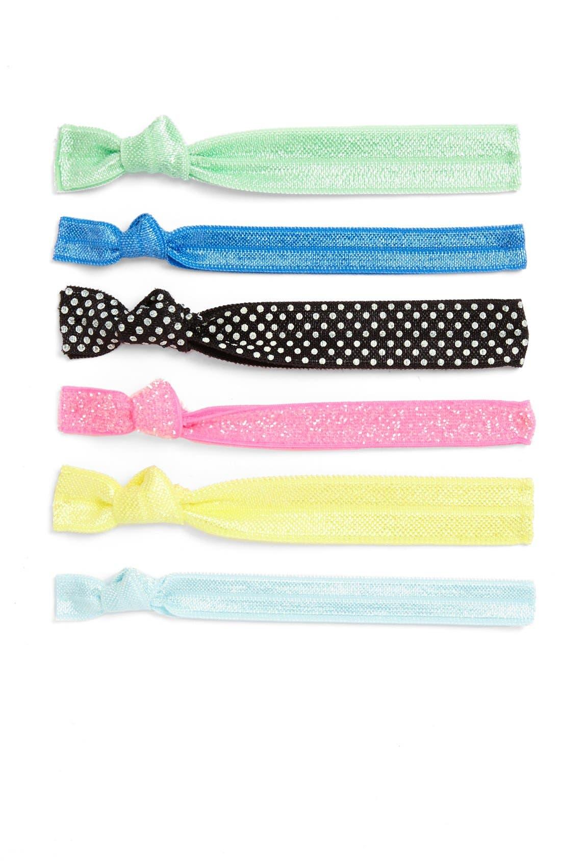 Alternate Image 1 Selected - Kitsch 'Sweet Tart' Hair Ties (6-Pack) (Girls)