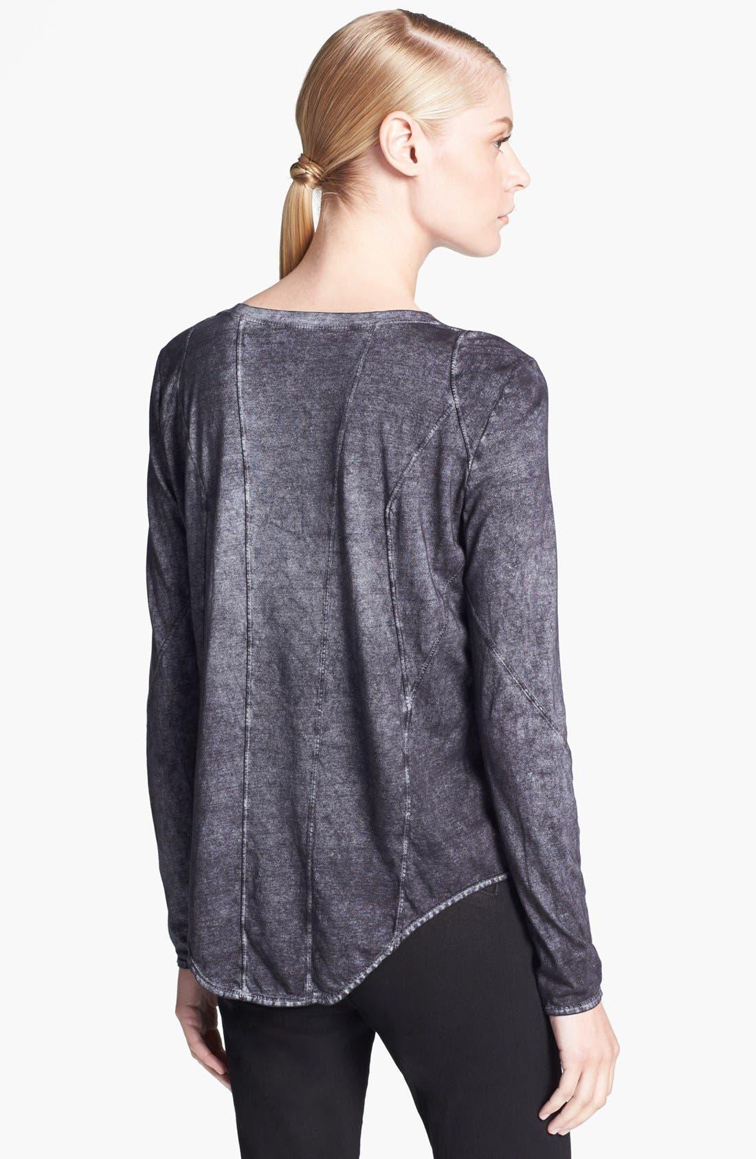 Alternate Image 2  - HELMUT Helmut Lang 'Chalk' Long Sleeve Jersey Tee