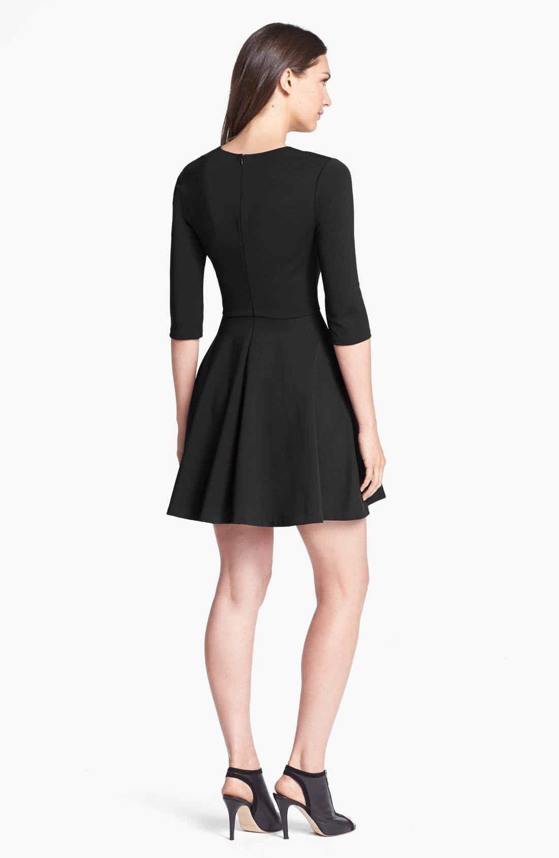 Alternate Image 2  - Diane von Furstenberg 'Jeannie' Stretch Fit & Flare Dress
