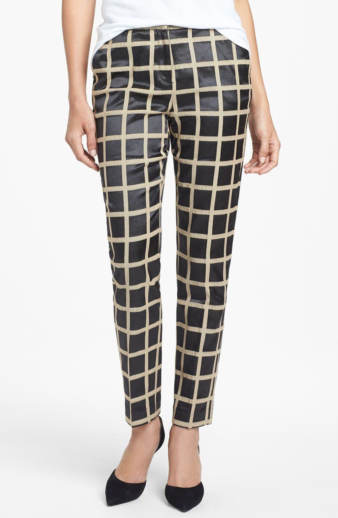Main Image - Halogen® 'Quinn' Skinny Ankle Pants (Regular & Petite)