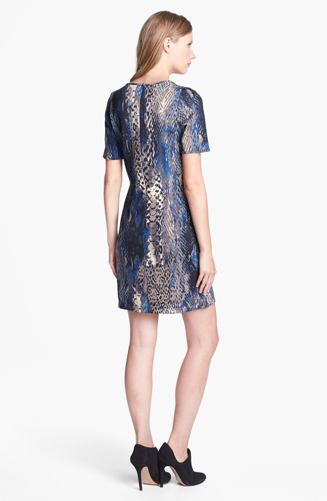 Alternate Image 2  - Collective Concepts Print Body-Con Dress
