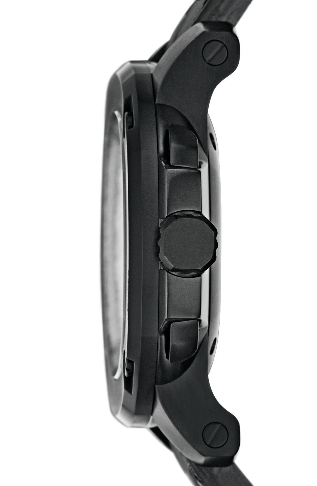 Alternate Image 4  - Burberry The Britain Automatic Alligator Strap Watch, 43mm