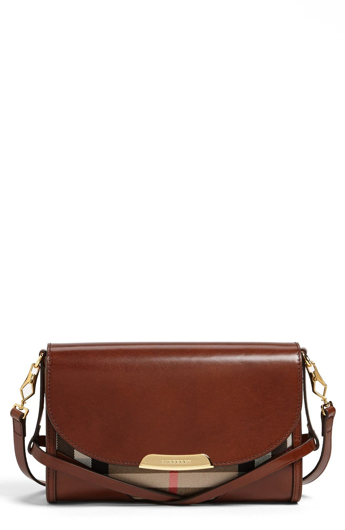 Main Image - Burberry 'House Check' Crossbody Bag