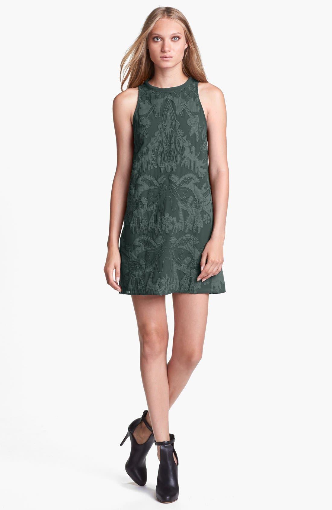 Alternate Image 1 Selected - ASTR Embroidered Shift Dress