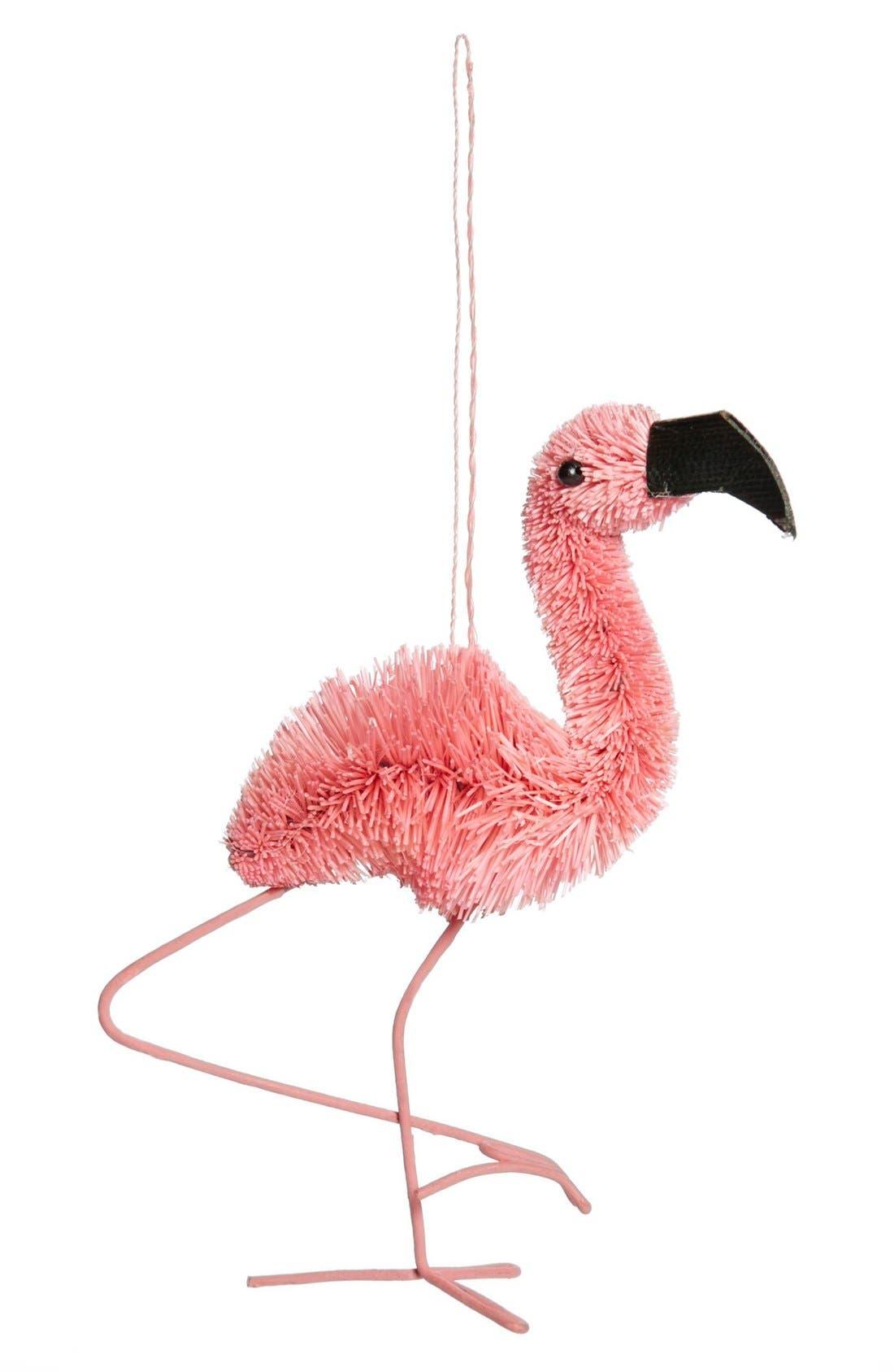 asmyca flamingo ornament
