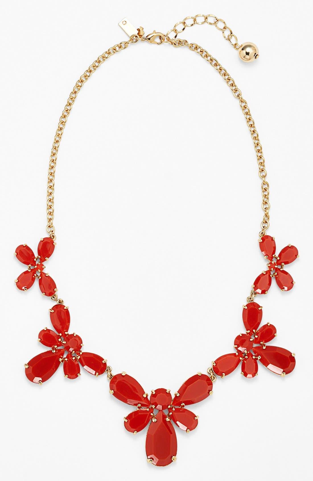 Main Image - kate spade new york 'garden path' graduated collar necklace