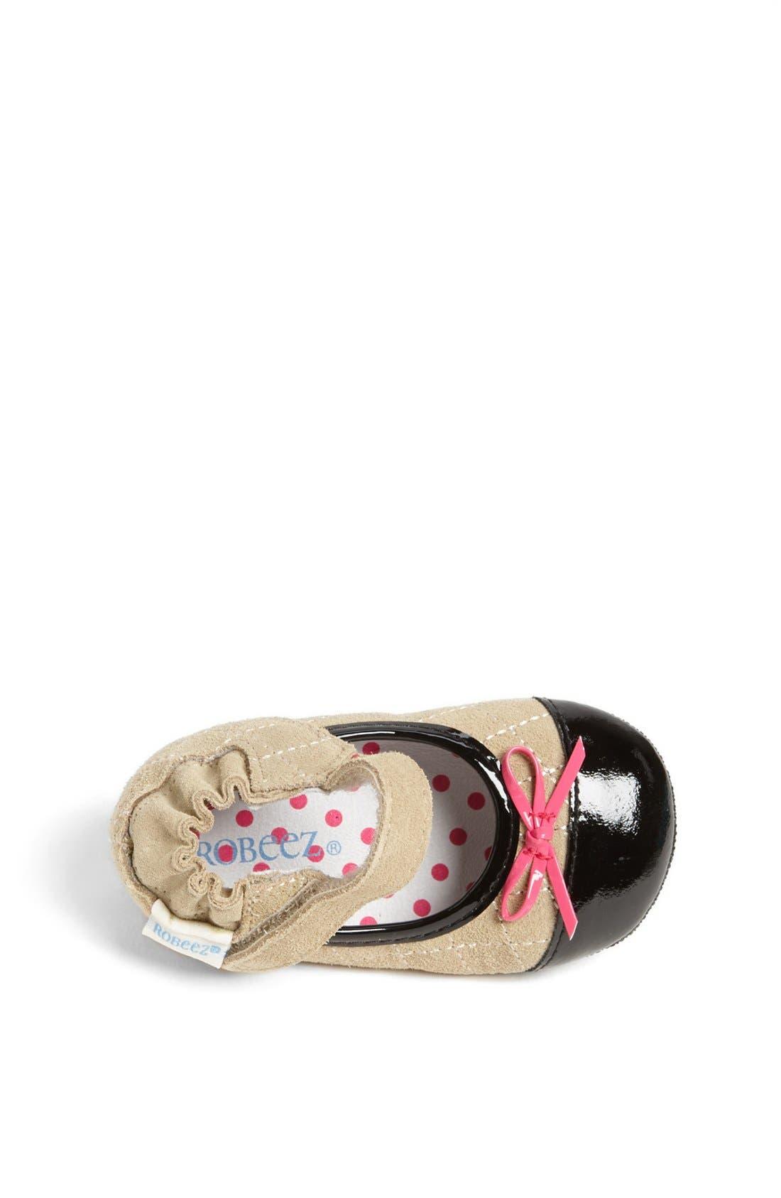 Alternate Image 3  - Robeez® Mini Shoez 'Harper' Mary Jane (Baby & Walker)