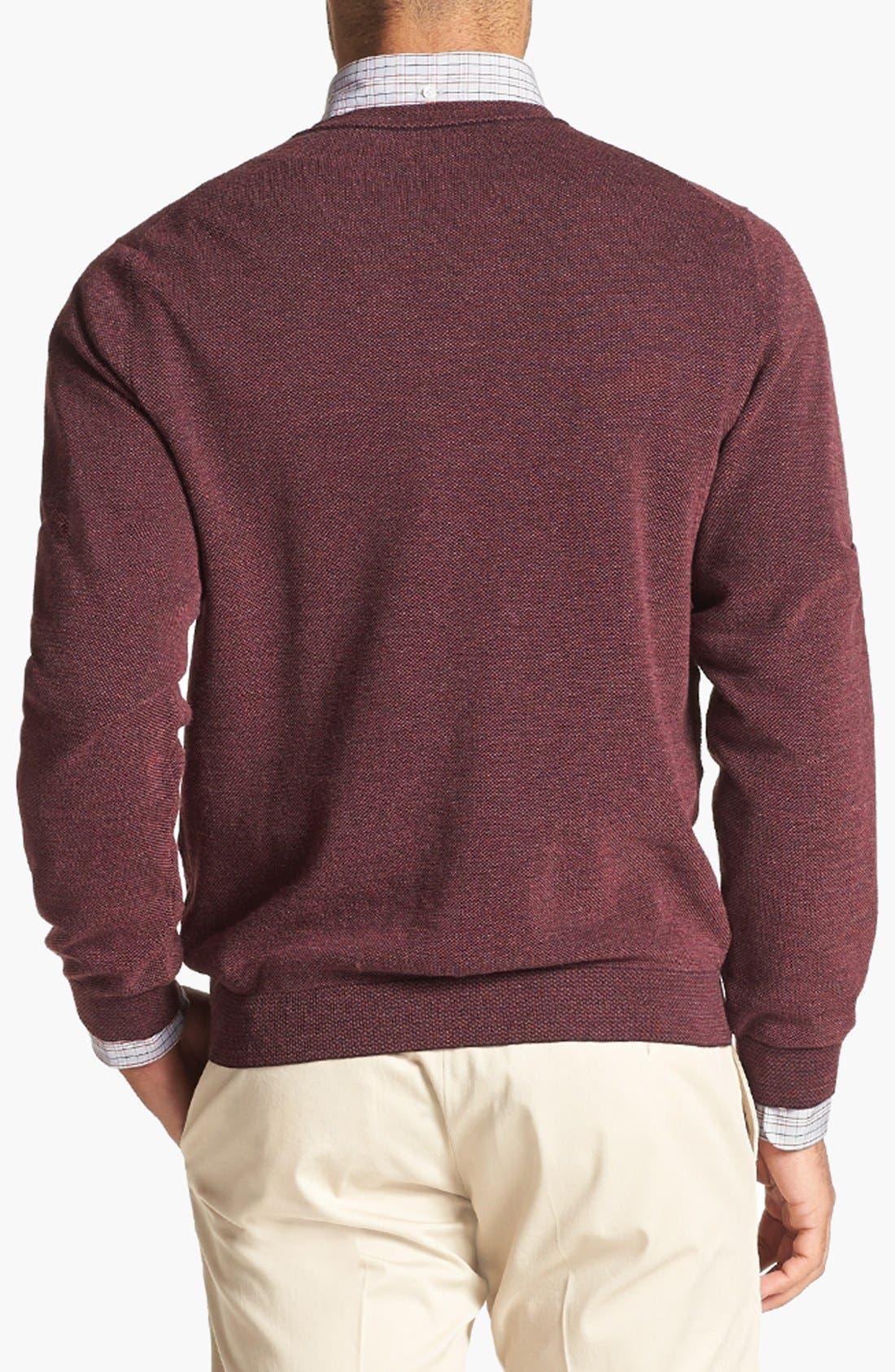 Alternate Image 2  - John W. Nordstrom® Merino Wool Crewneck Sweater