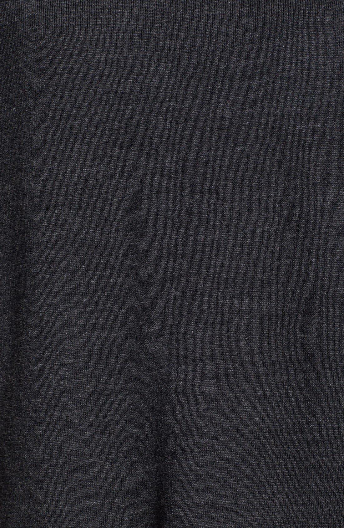 Alternate Image 3  - Eileen Fisher Faux Wrap Back Merino Jersey Top
