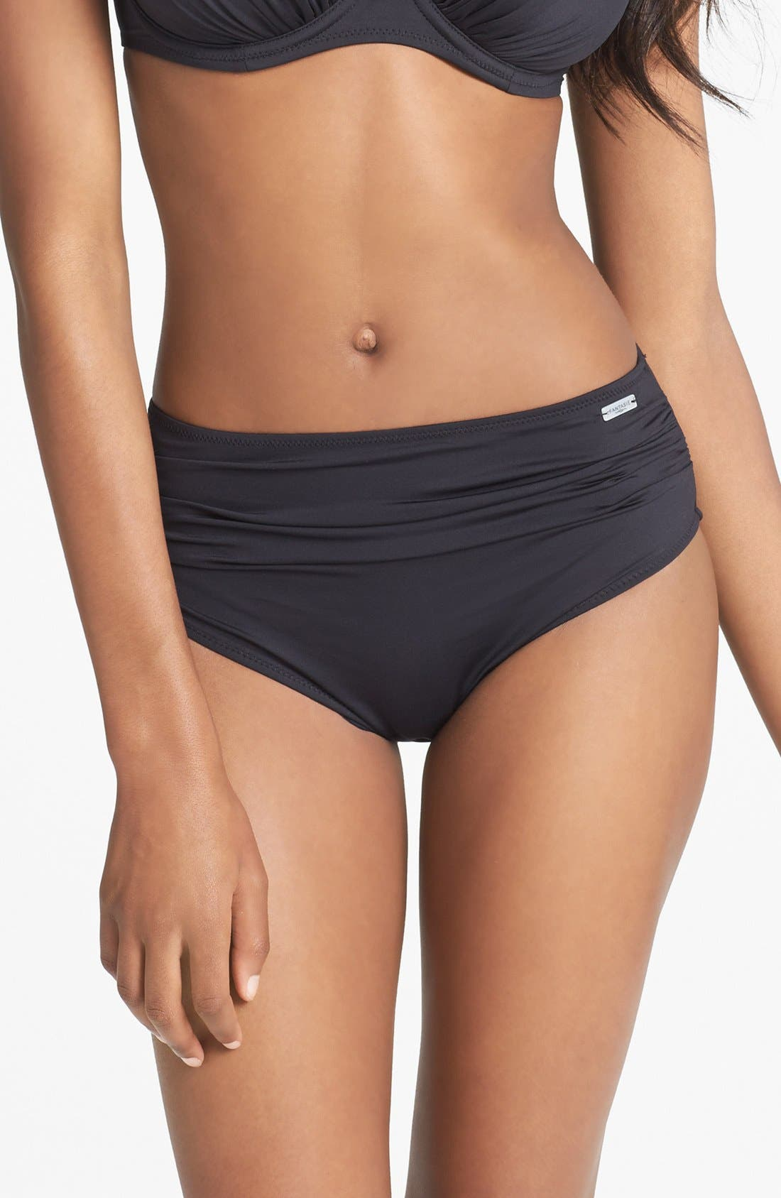'Versailles' Bikini Bottoms,                         Main,                         color, Black