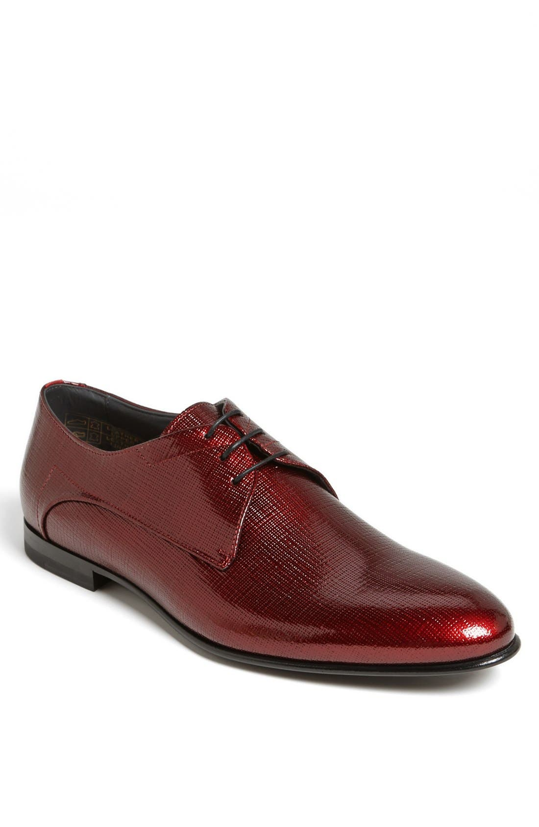 Main Image - HUGO 'Eviano' Plain Toe Derby