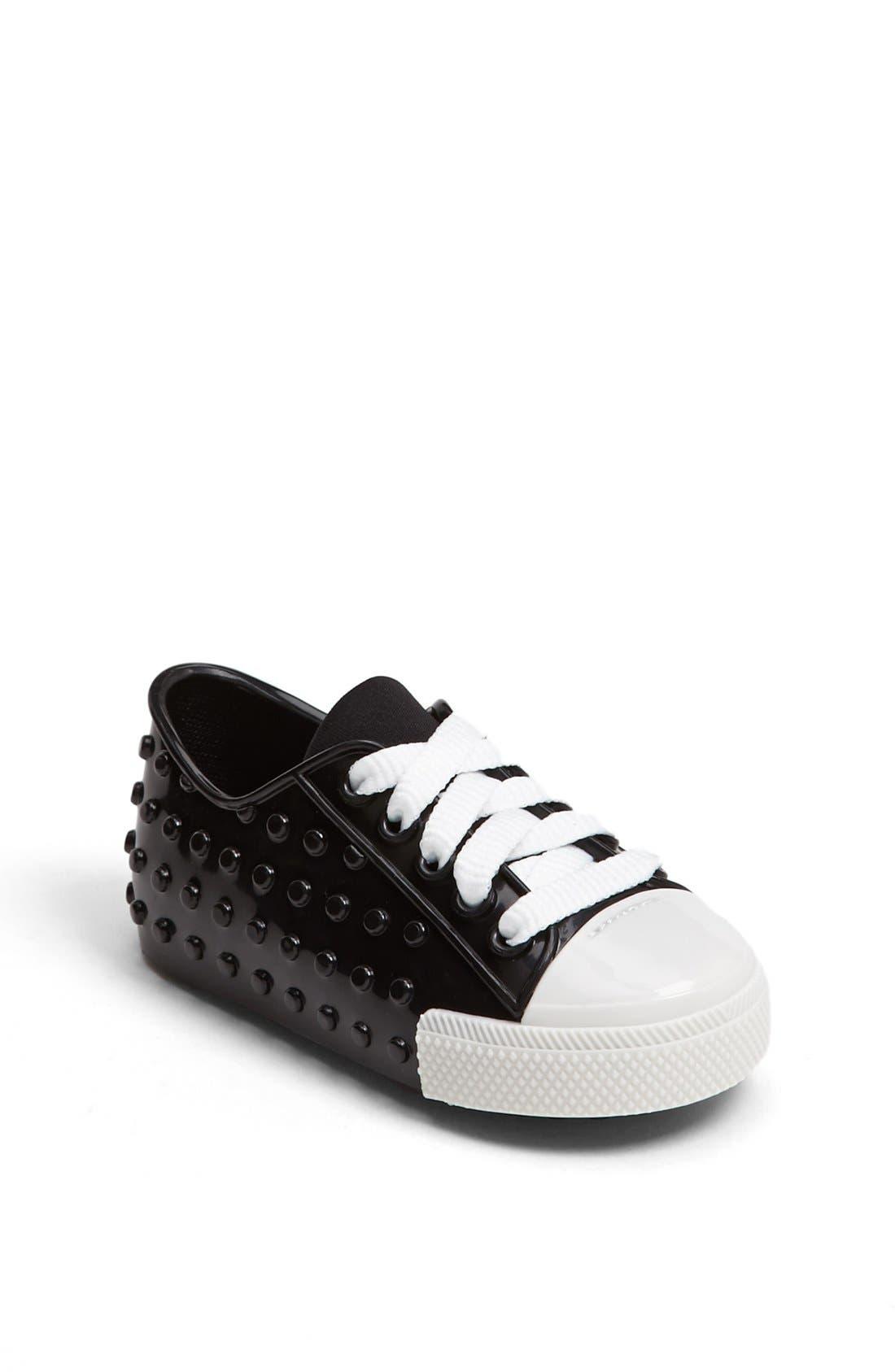 Alternate Image 1 Selected - Mini Melissa 'Polibolha' Sneaker (Walker & Toddler)