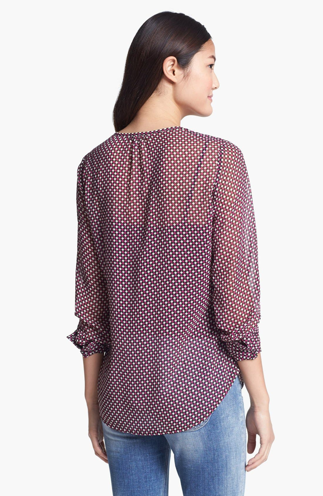 Alternate Image 2  - Pleione Sheer Blouse