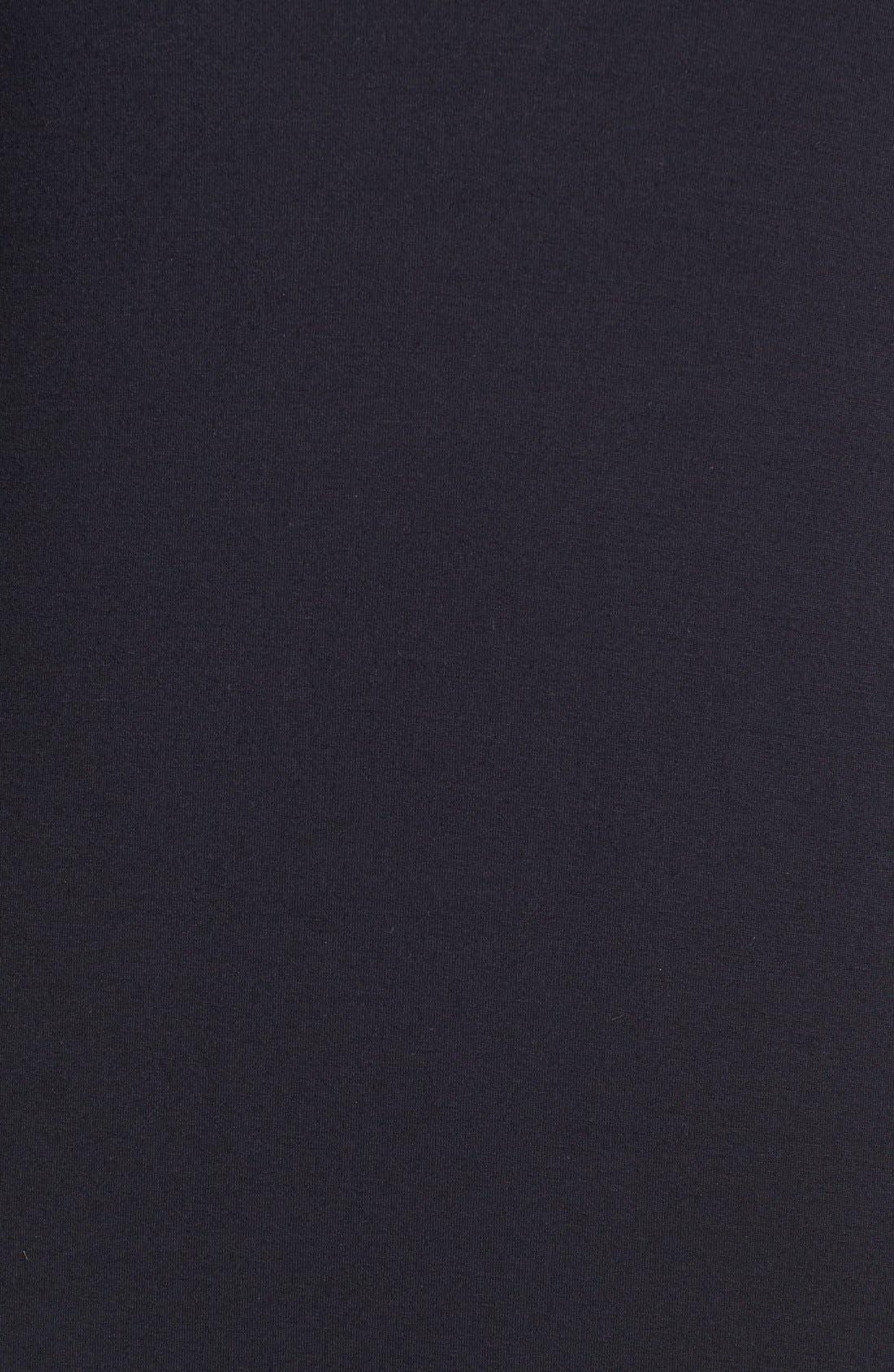 Alternate Image 3  - Three Dots Lace Sleeve Jersey Maxi Dress