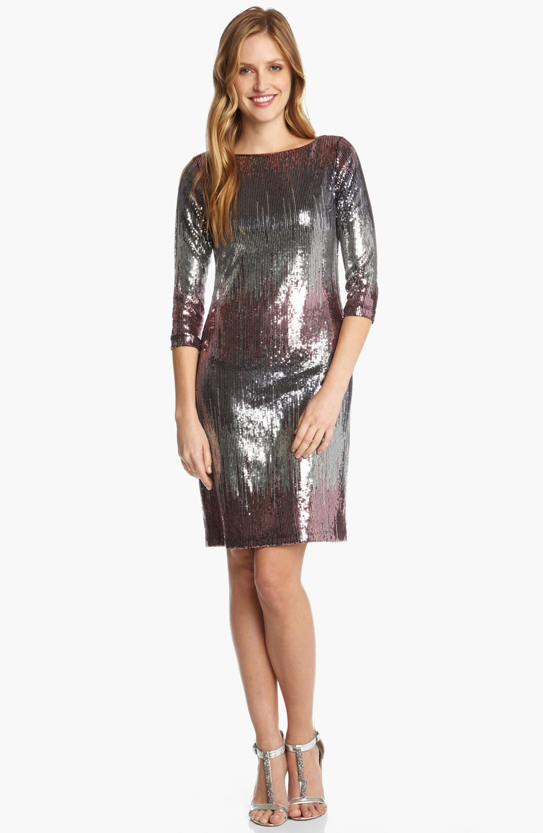 Alternate Image 1 Selected - Karen Kane 'Versailles' Sequin Dress