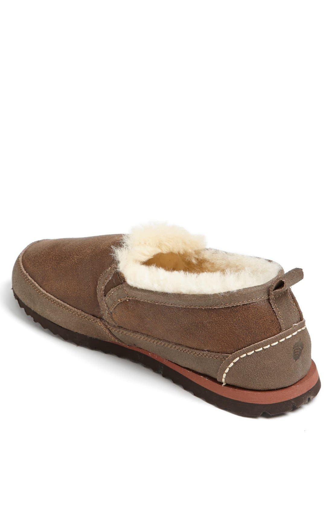 Alternate Image 2  - Acorn 'Romeo' Genuine Sheepskin Slipper