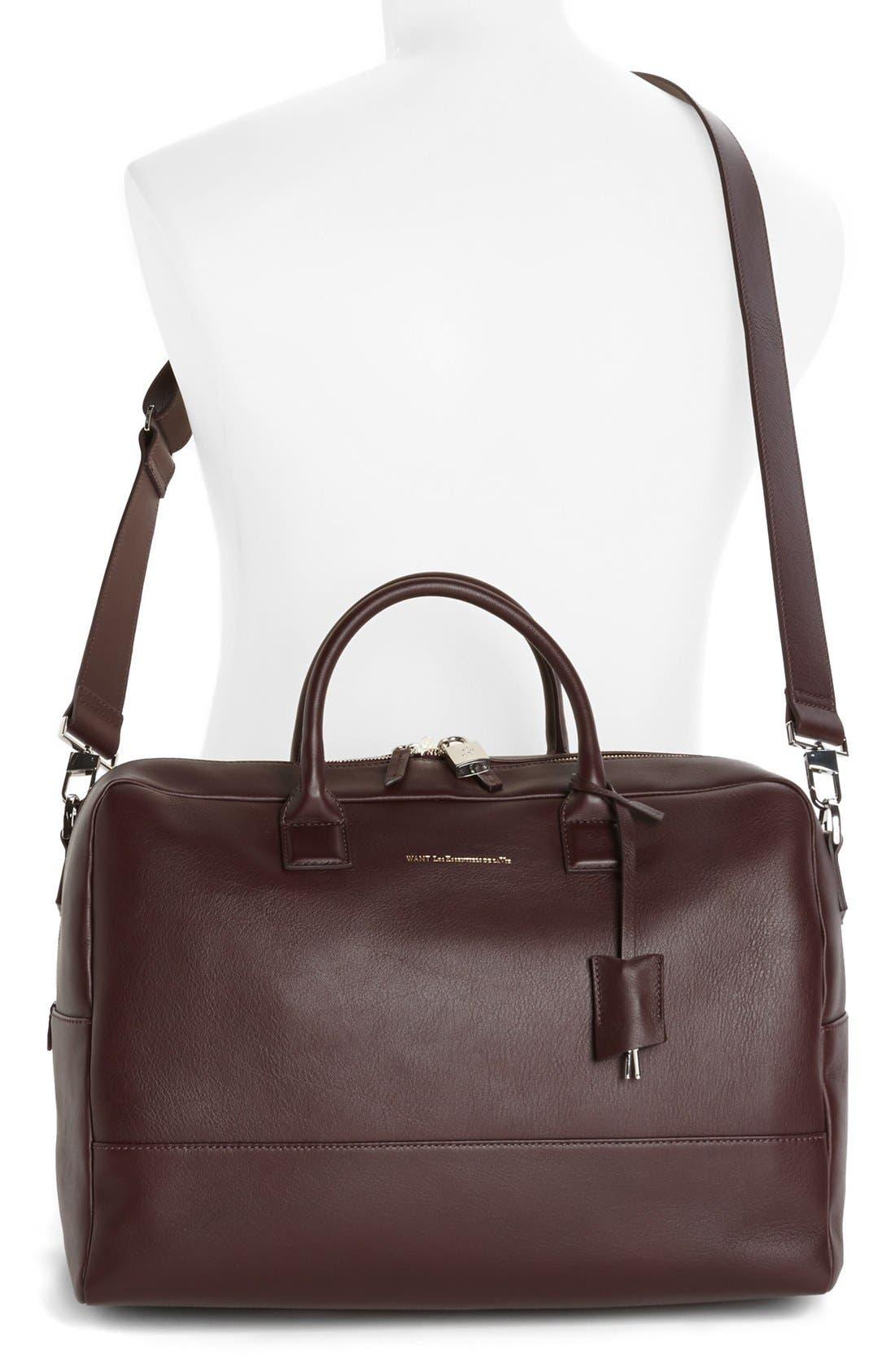 Alternate Image 4  - WANT Les Essentiels de la Vie 'Douglas' Leather Carryall Bag