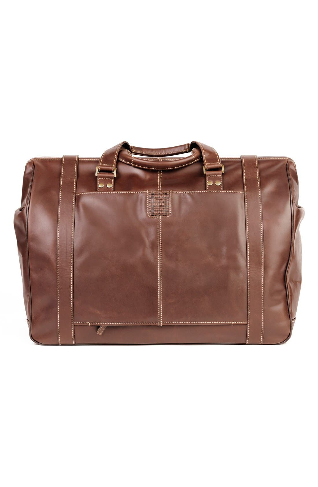 'Bryant' Duffel Bag,                             Alternate thumbnail 3, color,                             Antique Mahogany