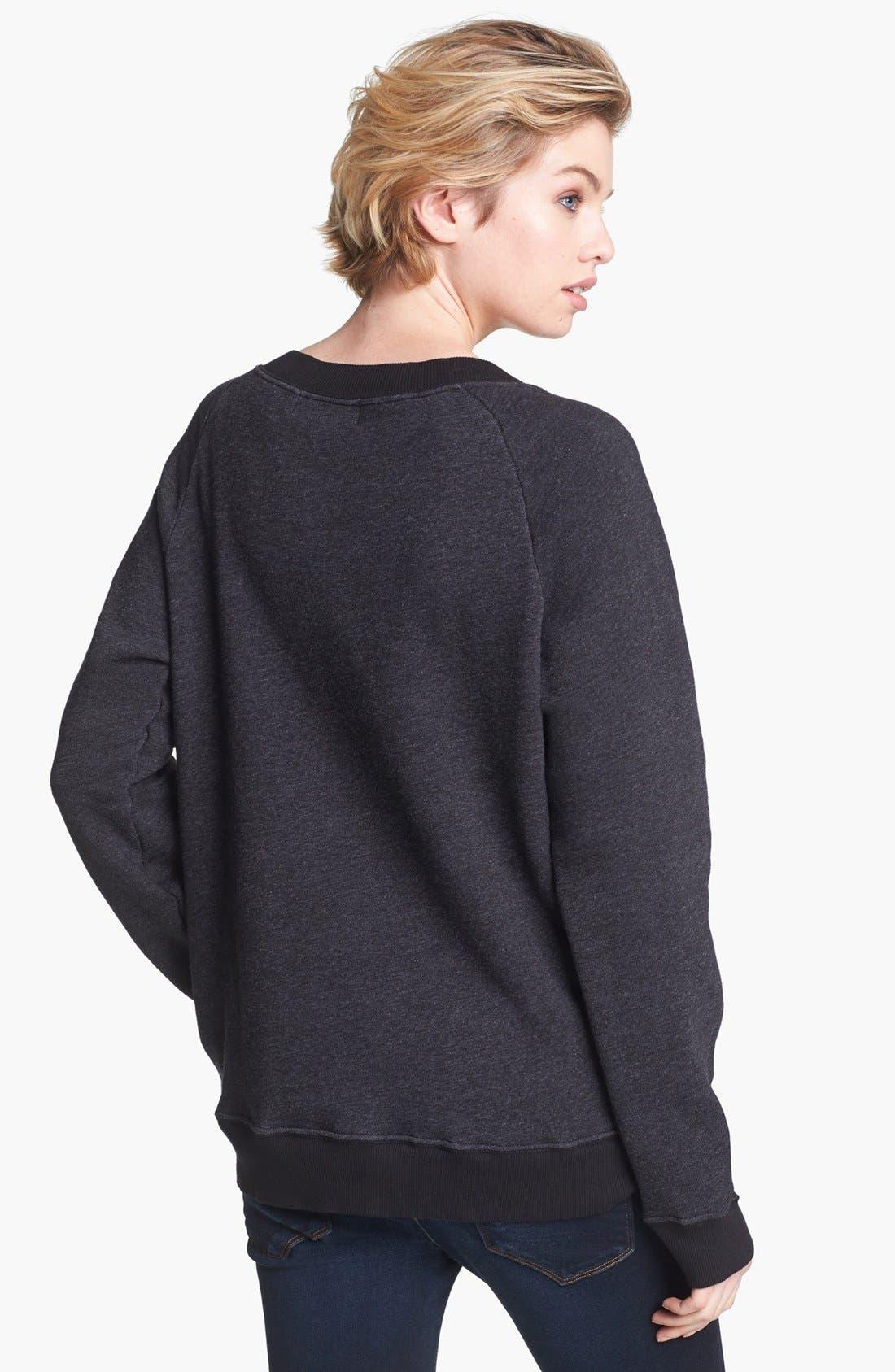 Alternate Image 2  - Wildfox 'Oo La La' Sweatshirt